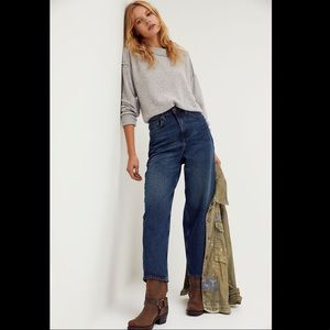 We The Free Dad Jeans- FP High Waisted Jeans